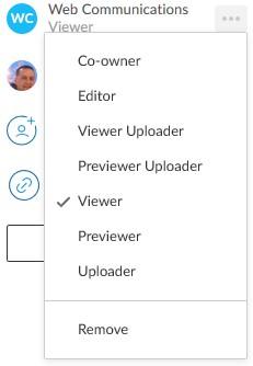 New UI permissions